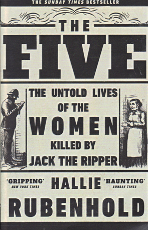 The Five by Hallie Rubenhold