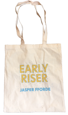 Early Riser canvas bag